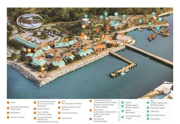 Image Result For Amber Cove Dominican Republic Map