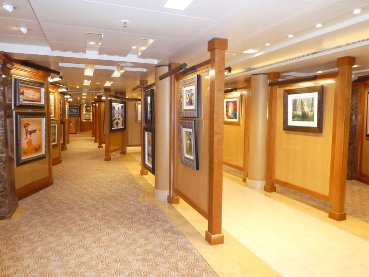 The Art Gallery on Sapphire Princess