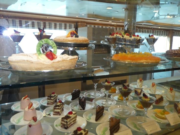 Horizon Court desserts Sapphire Princess