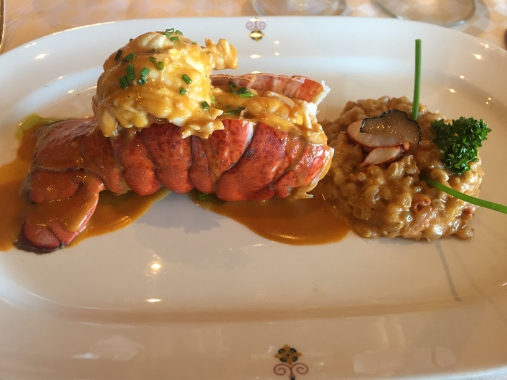 Lobster 'three ways' at Sabatini's